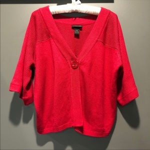 3 for $20 Lane Bryant Red Cardigan Sweater
